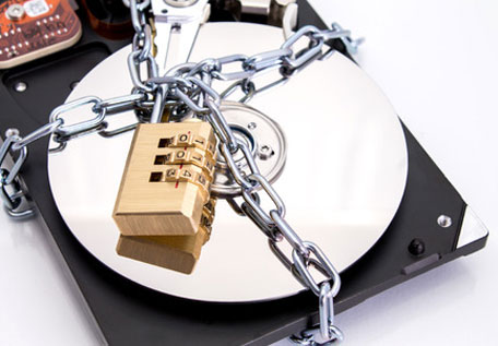 Secure Data on Hard Drive