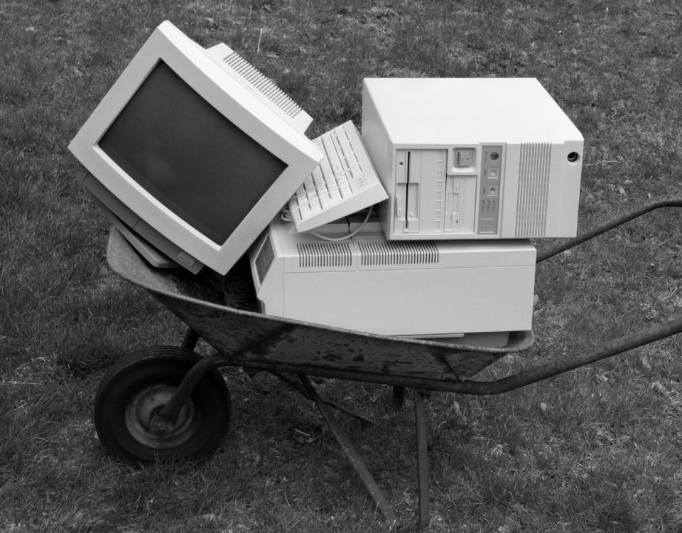 Old Business Computer
