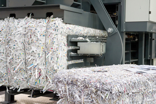 Paper Shredding by Protec Recycling