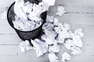 Paper Waste Represents a Security Reisk