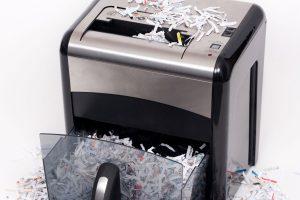Paper Shredding Overflow